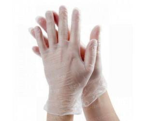 Перчатки виниловые (ПВХ) для упаковки и фасовки
