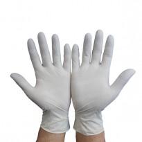 Перчатки нитриловые одноразовые, размеры S, M, L