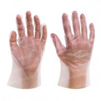 Перчатки ТПЭ, одноразовые, для упаковки и фасовки, размеры M, L