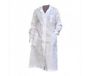 Халат плотный для упаковки и фасовки, размеры XS-XL