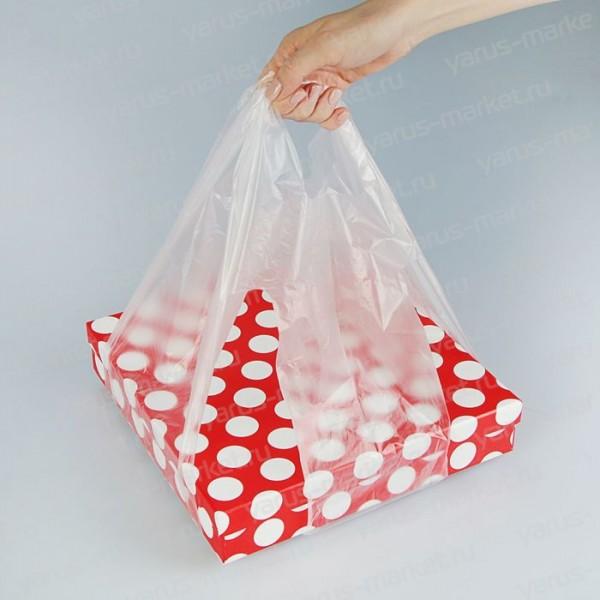 Пакеты для переноса коробок, стаканов
