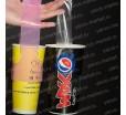Пакет-переноска для одного стаканчика, 12×25см