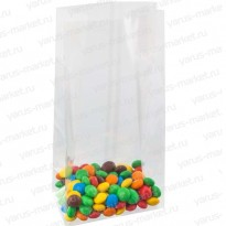 Пакет БОПП с прямоугольным дном, для фасовки кондитерских изделий