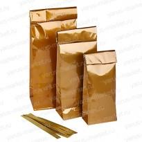 Пакет для чая и кофе со встроенным фиксатором, 100 гр