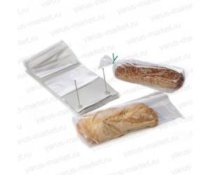 Викет-пакеты для хлеба со скобой для крепления