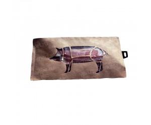 Крафт пакет с окном для упаковки мяса