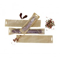 Крафт-пакет для колбасы с окном и еврослотом