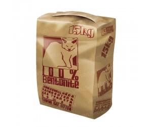 Крафт-пакет Flat-top для кошачьего наполнителя