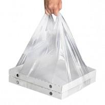 Полиэтиленовый пакет для коробки из под пиццы, 24 + 18×50см., 32 + 24×60см