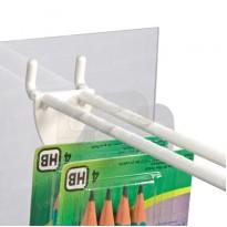Самоклеящиеся вешалки, еврослоты 44×37мм (в листах и рулонах)