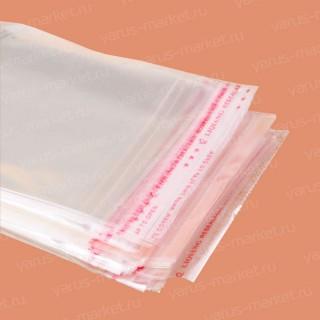 Полипропиленовые пакеты с липким скотч-клапаном