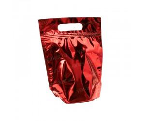 Реторт-пакет дой-пак с донной складкой и вырубкой под ручку