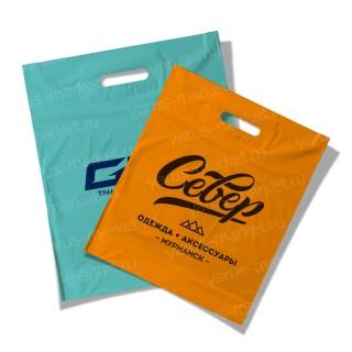 Печать пакета с логотипом