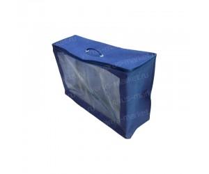 Сумка-чемодан из ПВХ и спанбонда с усиленным кедером