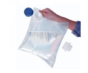 Прозрачный винный пакет «Bag-in-Box» с крышкой