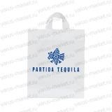 Пакет ПСД с петлевой ручкой с логотипом