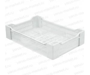 Пластиковый ящик, 500x300x120 мм., для ягод