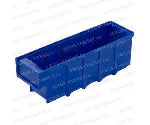 Пластиковый ящик для склада 300x92x100