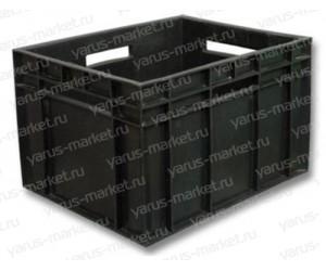 Пластиковый ящик, 600х400х177 мм., для хранения полуфабрикатов