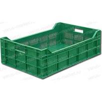 Пластиковый ящик, 600х400х200 мм., с перфорацией
