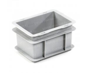 Пластиковый износостойкий ящик, 200х150х120 мм., для хранения флаконов