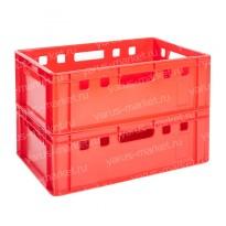 Пластиковый ящик, 600x400x200 мм., для хлебобулочных изделий