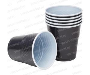 Пластиковый стакан для вендинговых аппаратов, черный, 155 мл