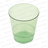 Пластиковый стакан, 200 мл, для холодных напитков, зеленый, красный, синий