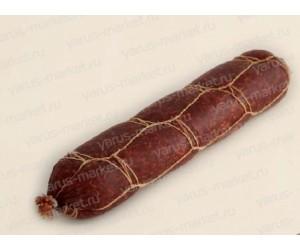 Неэластичная сетка для колбасы «Двойной квадрат»