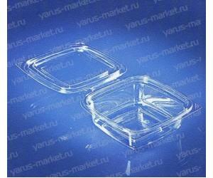 Пластиковый салатник ПР-СК-РГ-250 из ПЭТ