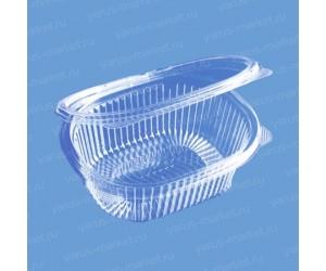 Пластиковый салатник ИПР-750 из ПЭТ