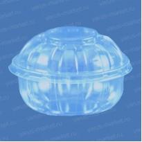 Пластиковый салатник ПР-М-201 из ПЭТ