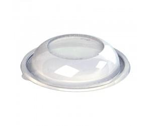 Круглая крышка ПЭТ прозрачного цвета с куполом