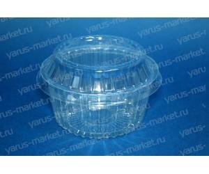 Пластиковый салатник ПР-М-195 из ПЭТ