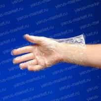 Перчатки одноразовые, полиэтиленовые, для упаковки и фасовки, XS, S, M, L, XL