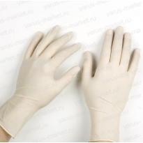 Перчатки латексные для упаковки и фасовки, M, L