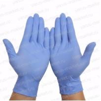 Перчатки нитриловые для упаковки и фасовки, размеры S, M, L