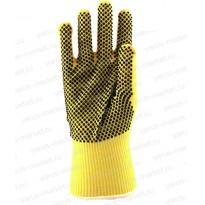 Перчатки для защиты от порезов, желтые, размеры S, M, L