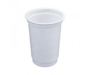 Высокий пластиковый стакан под запайку