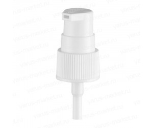 Дозатор для крема 18/415 белый, черный