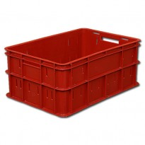 Пластиковый ящик, 600х400х250 мм., для колбасы