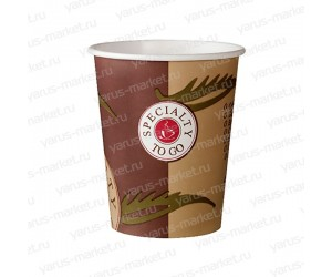 Бумажные стаканы, 200 мл, с логотипом