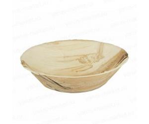 Тарелка суповая из пальмовых листьев 15 см