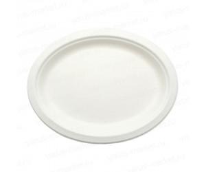 Тарелка овальная из сахарного тростника