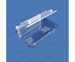 Пластиковая упаковка ПР-К65 из ПЭТ/ОПС, 645x425x280мм