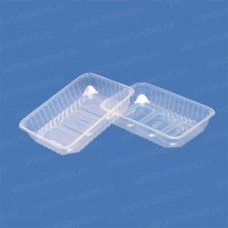 Пластиковый контейнер ПР-КФ-28 из ПЭТ