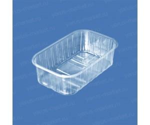 Пластиковый контейнер ПР-КФ-55 из ПЭТ, для ягод