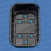 Контейнер под запайку ПР-УКФ-50, 590 × 380 × 305, из ПЭТ
