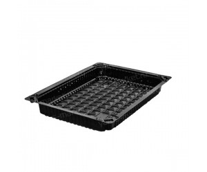 Контейнер для суши, 30×24×7см, черный