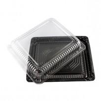 Крышка контейнера для суши, широкая, прозрачная